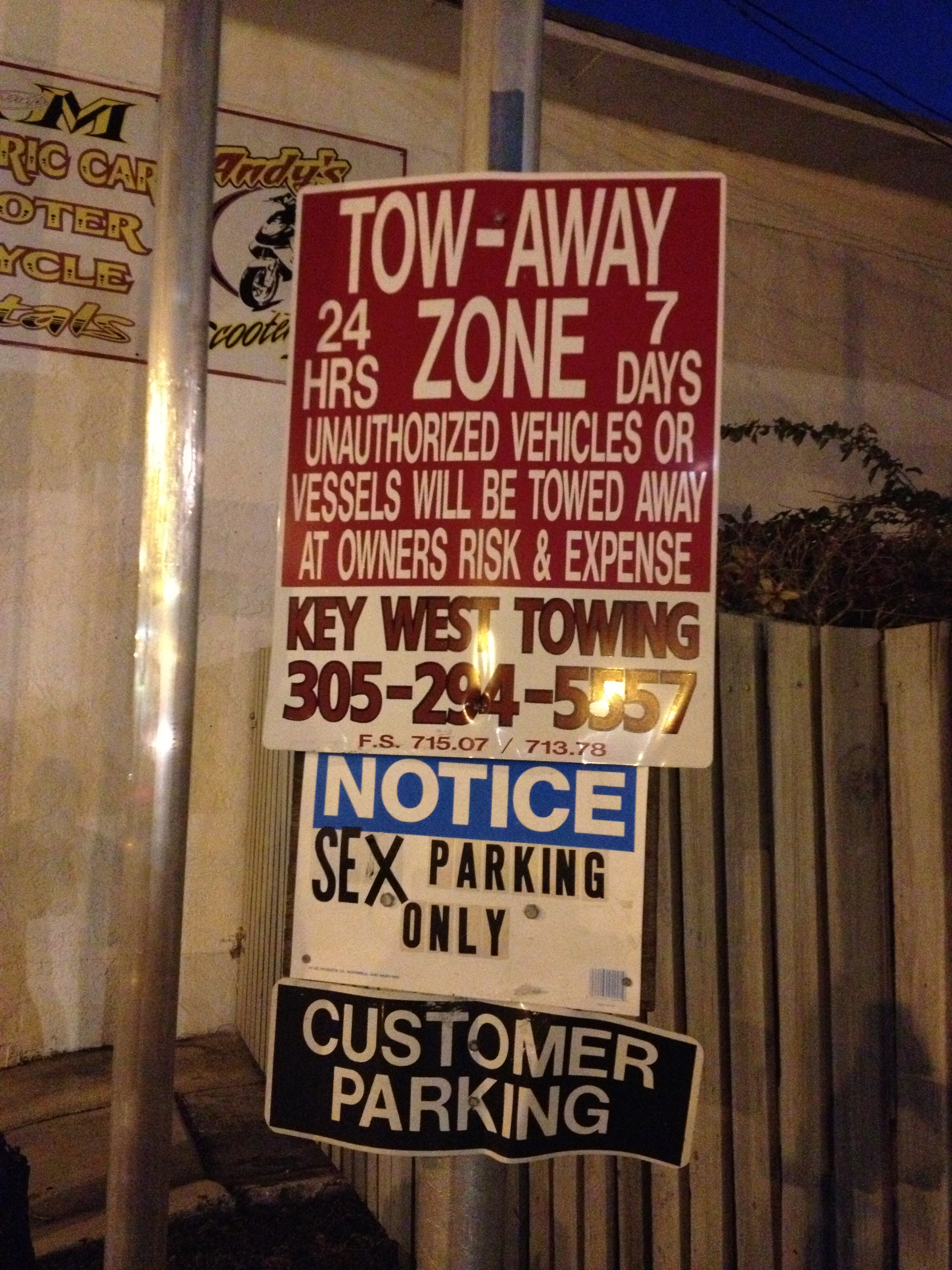 SexParkingSign